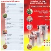 DÜDÜKLÜ TENCERE SANAYİ TİP 40 LT-90LT-120LT